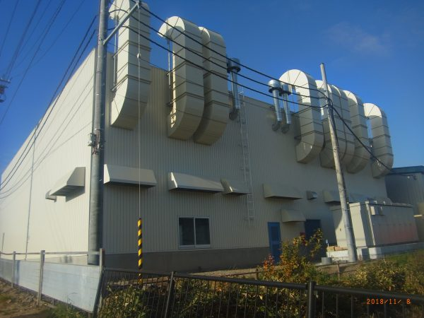 H社第3塗装工場新築工事