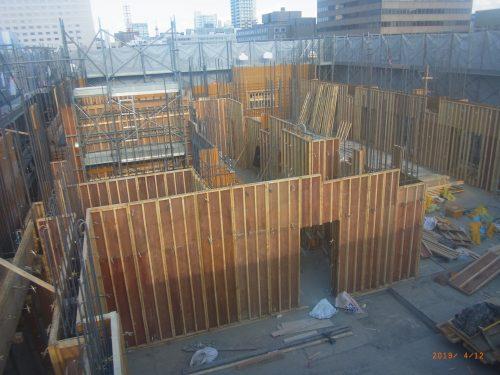 【施工中】レーベン札幌(東棟・西棟)工事