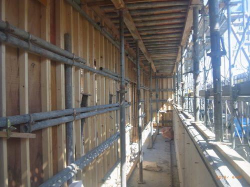 【施工中】市営住宅伏古団地1号棟新築工事
