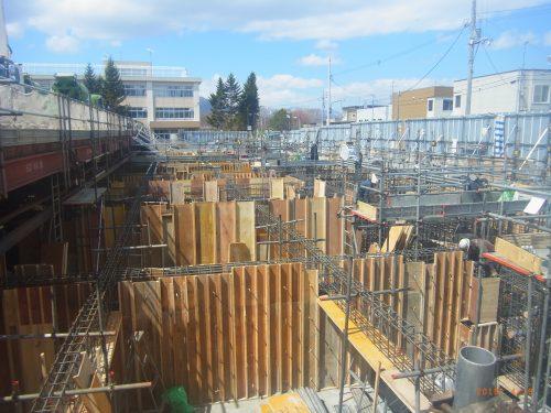 【施工中】西岡第一病院新築工事